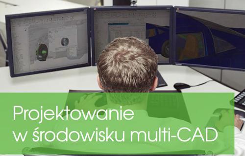 """Okładka ebooka """"Projektowanie w środowisku multi-CAD"""""""