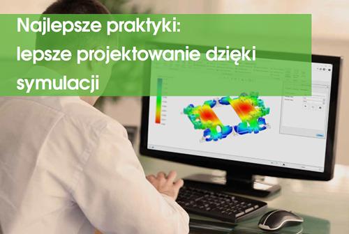 """Okładka ebooka """"Najlepsze praktyki: lepsze projektowanie dzięki symulacji""""."""