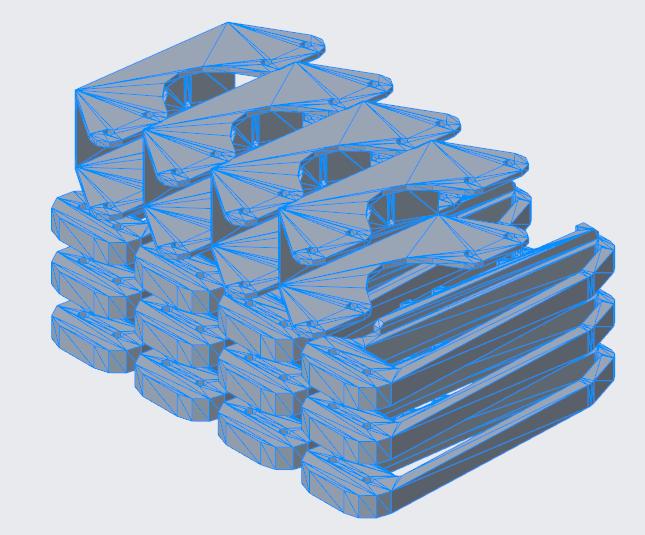Grafika przedstawiająca modele eksportowane do formatu STL.