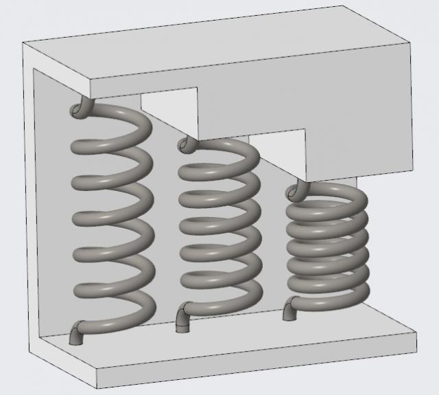Komponenty elastyczne w Creo Parametric