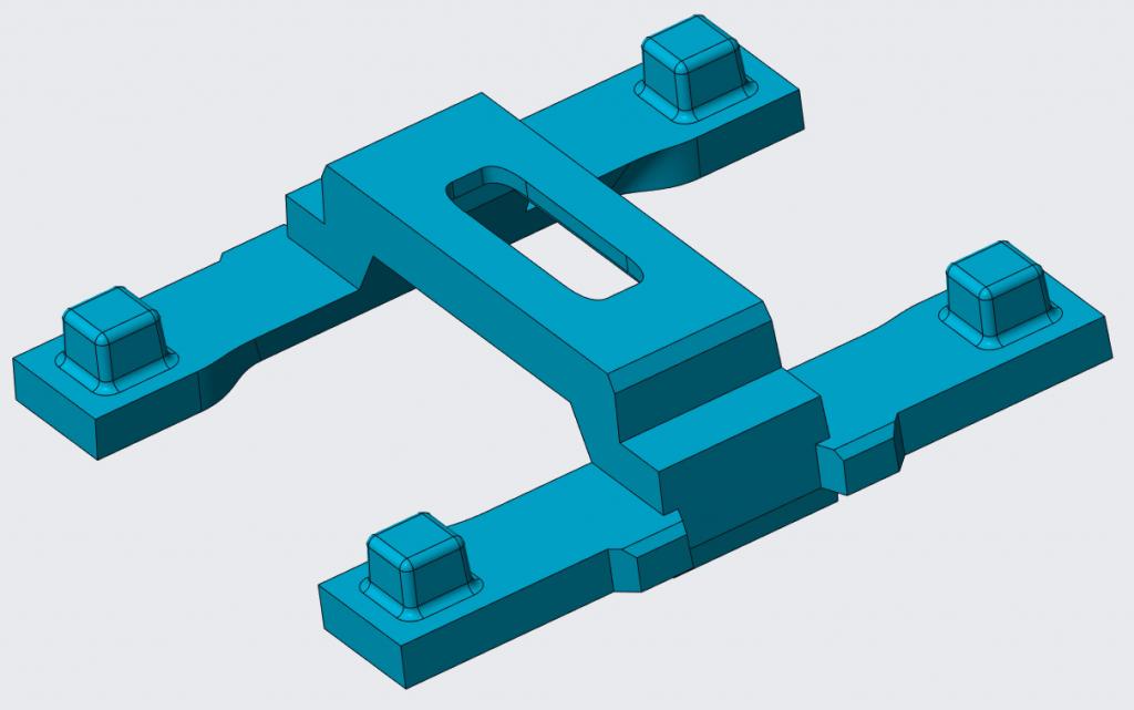 Grafika przedstawiająca model mostka.