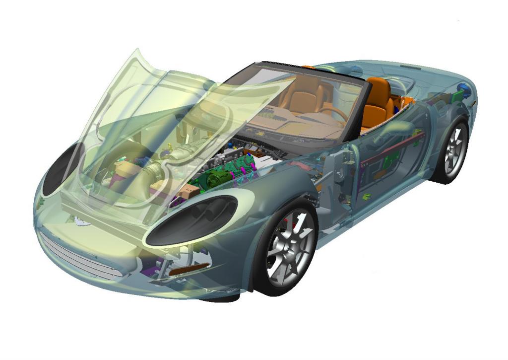 Creo View Lite umożliwia przeglądanie i weryfikowanie danych 3D bez dostępu do natywnej aplikacji.